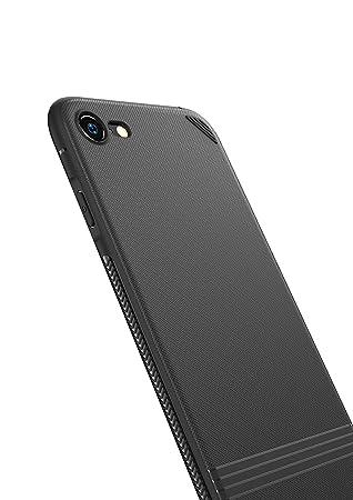 a115acbbf31 Kingriz Funda iPhone 8, Funda iPhone 7, Carcasa Ligera Bumper Silicona  Suave TPU Anti