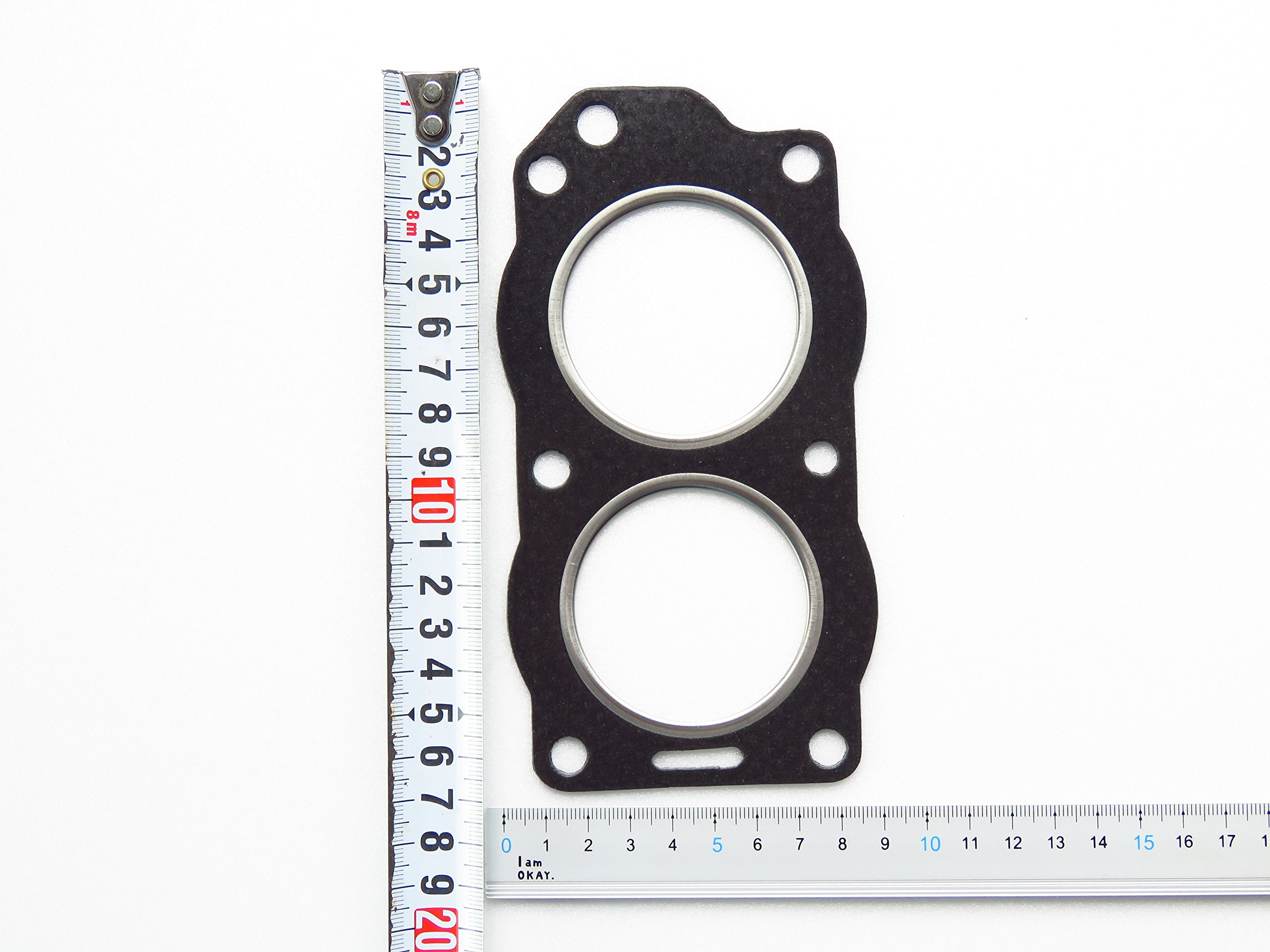 For OMC Johnson Evinrude Outboard, fit on 9.9, 15 HP Gasket 330818, 777389, 34140, 18-2963, New