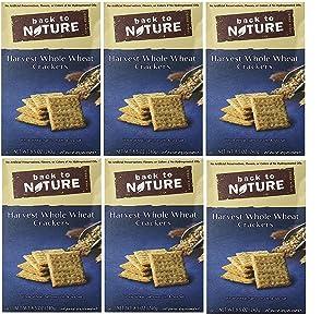 Back To Nature Cracker Harvest Whlwht