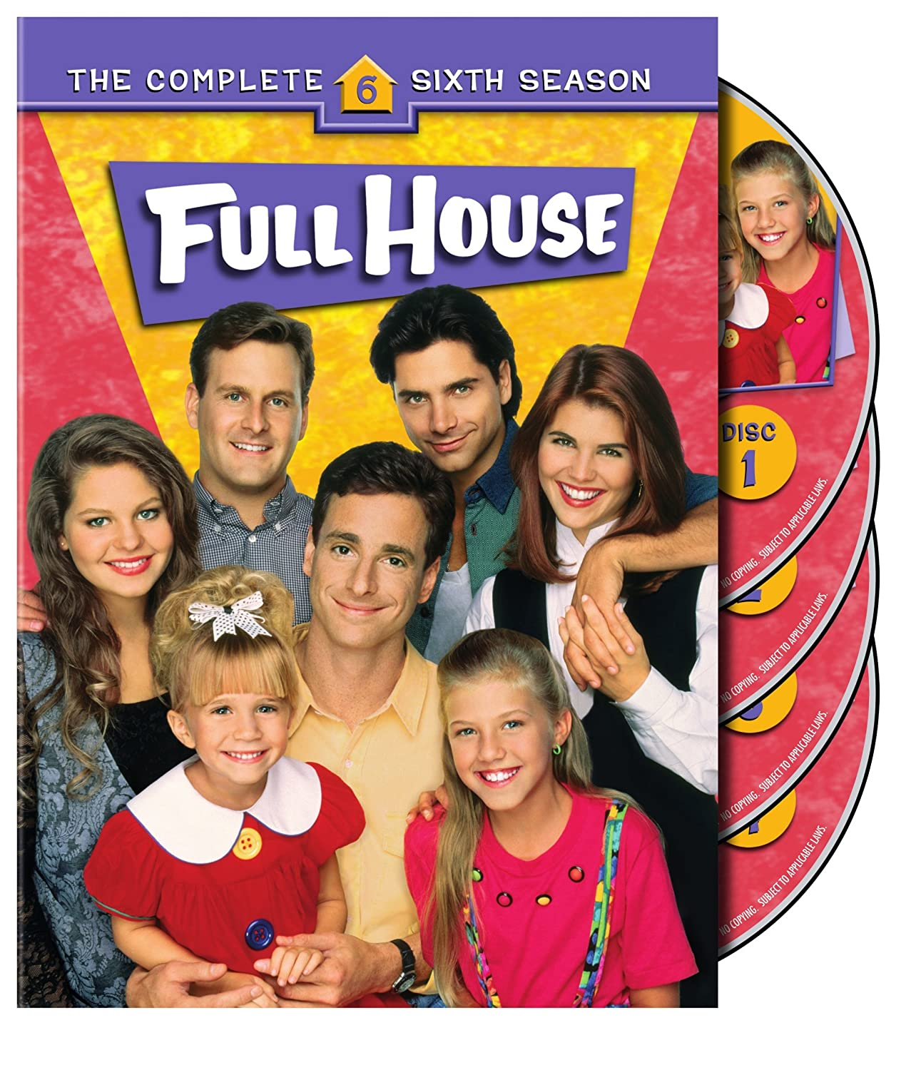 Full House: The Complete Sixth Season Ashley Olsen Mary-kate Olsen Bob Saget John Stamos