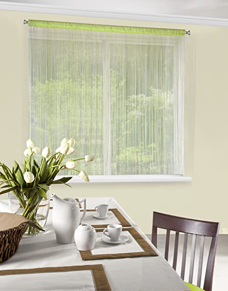 String Curtains Patio Net Fringe For Door Fly Screen Home Window