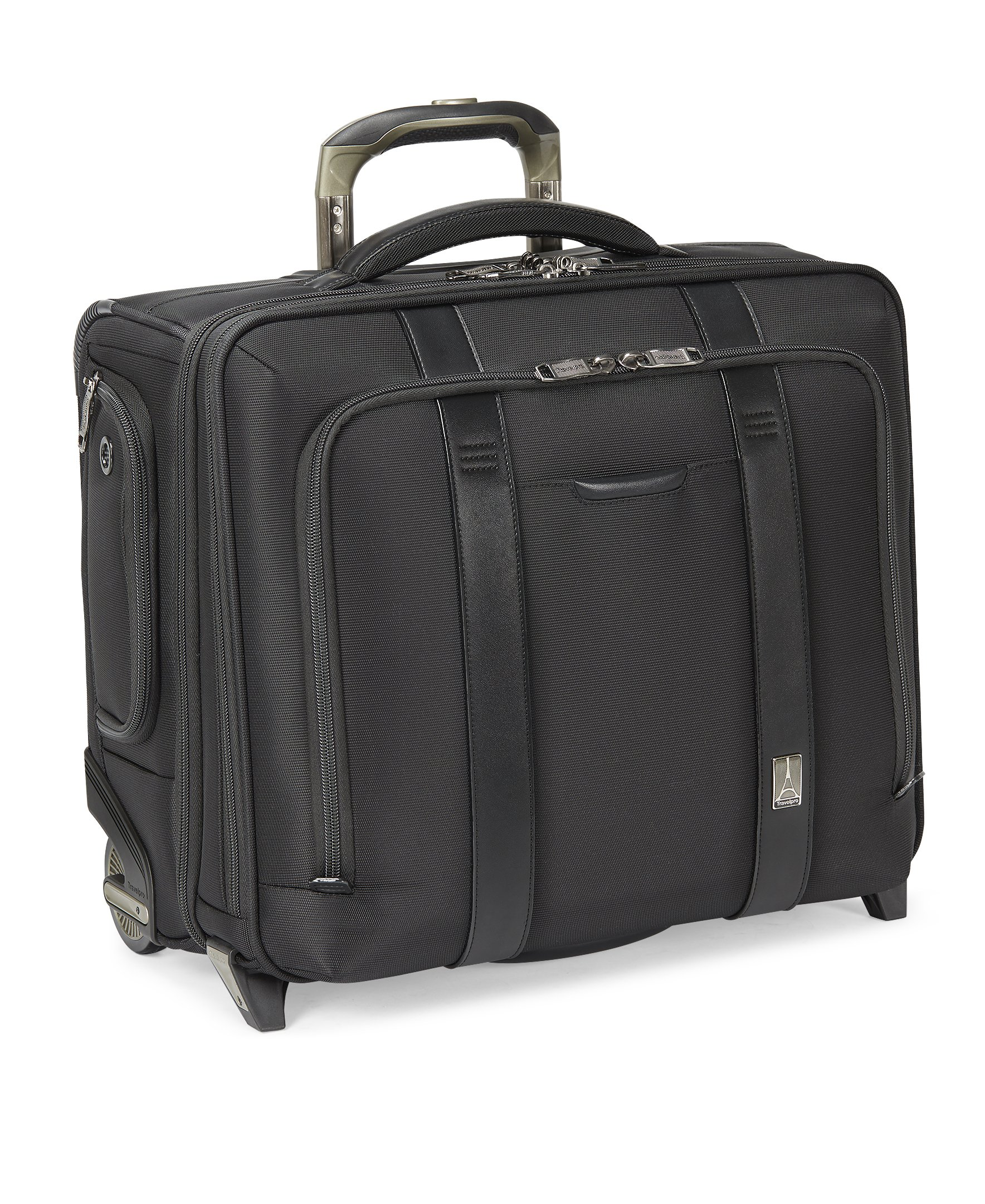 Travelpro Crew Executive Choice2 Wheeled Brief Bag 17-in. , Black
