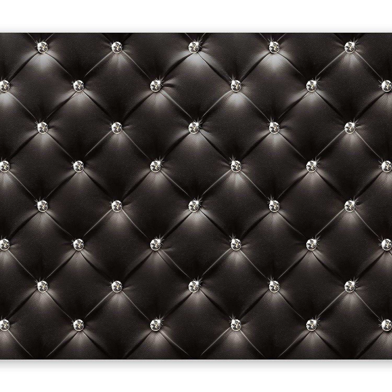 Murando - Fototapete 400x280 cm - Vlies Tapete - Moderne Wanddeko - Design Tapete - Wandtapete - Wand Dekoration - modern schwarz Leder f-B-0046-a-a