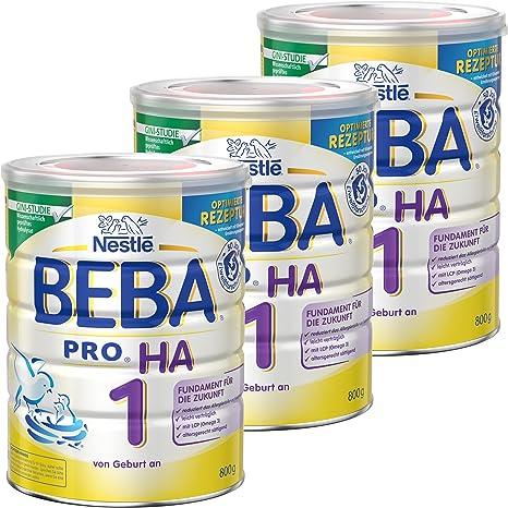Nestlé BEBA Pro HA 1 12332812 - Leche para bebés, alimento ...
