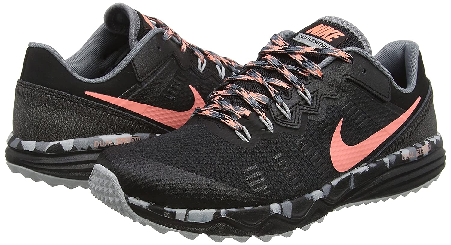 best website 38e51 7e4ef Amazon.com   NIKE Women s Dual Fusion 2 Trail Running Shoe   Trail Running
