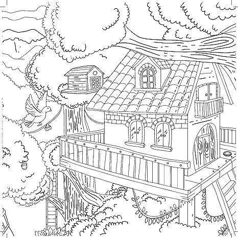 5d5b1988255 KaiserColour Perfect Bound Coloring Book 9.75X9.75-Treasure Island  Kaisercraft CL537
