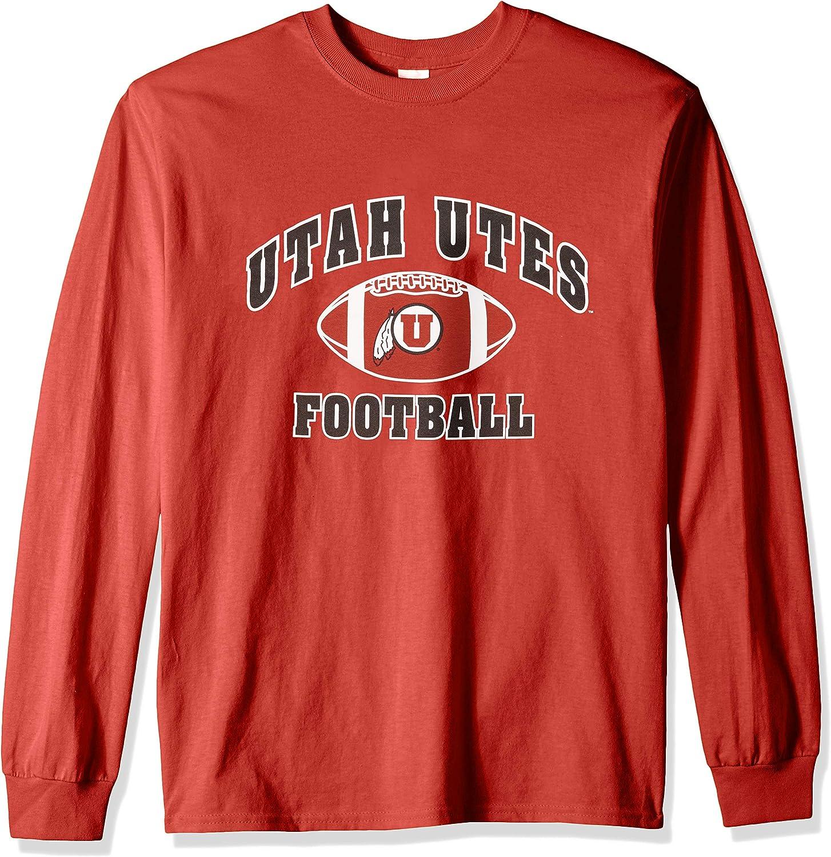 Elite Fan Shop NCAA Football Long Sleeve T-Shirt Team Color