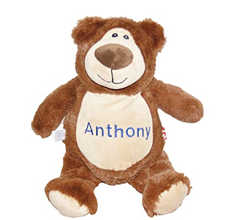 """0bb1ae6d865e Image Unavailable. Image not available for. Color: Lil' Cub Hub Cubbie  12"""" Embroidered Personalized Stuffed ..."""
