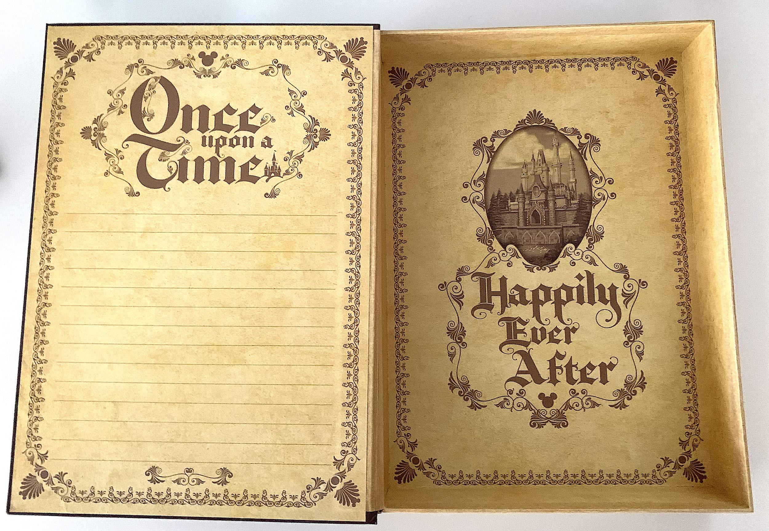 Disney Parks Once Upon a Time Storybook Keepsake Box