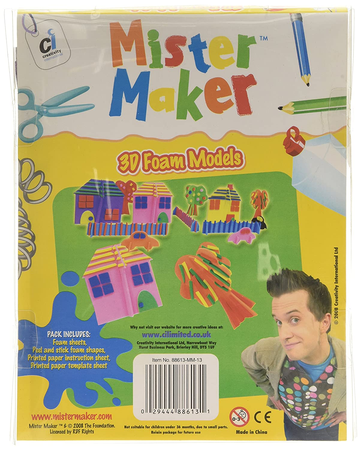 Mister Maker - Marioneta de dedos (Creativity International 88613): Amazon.es: Juguetes y juegos