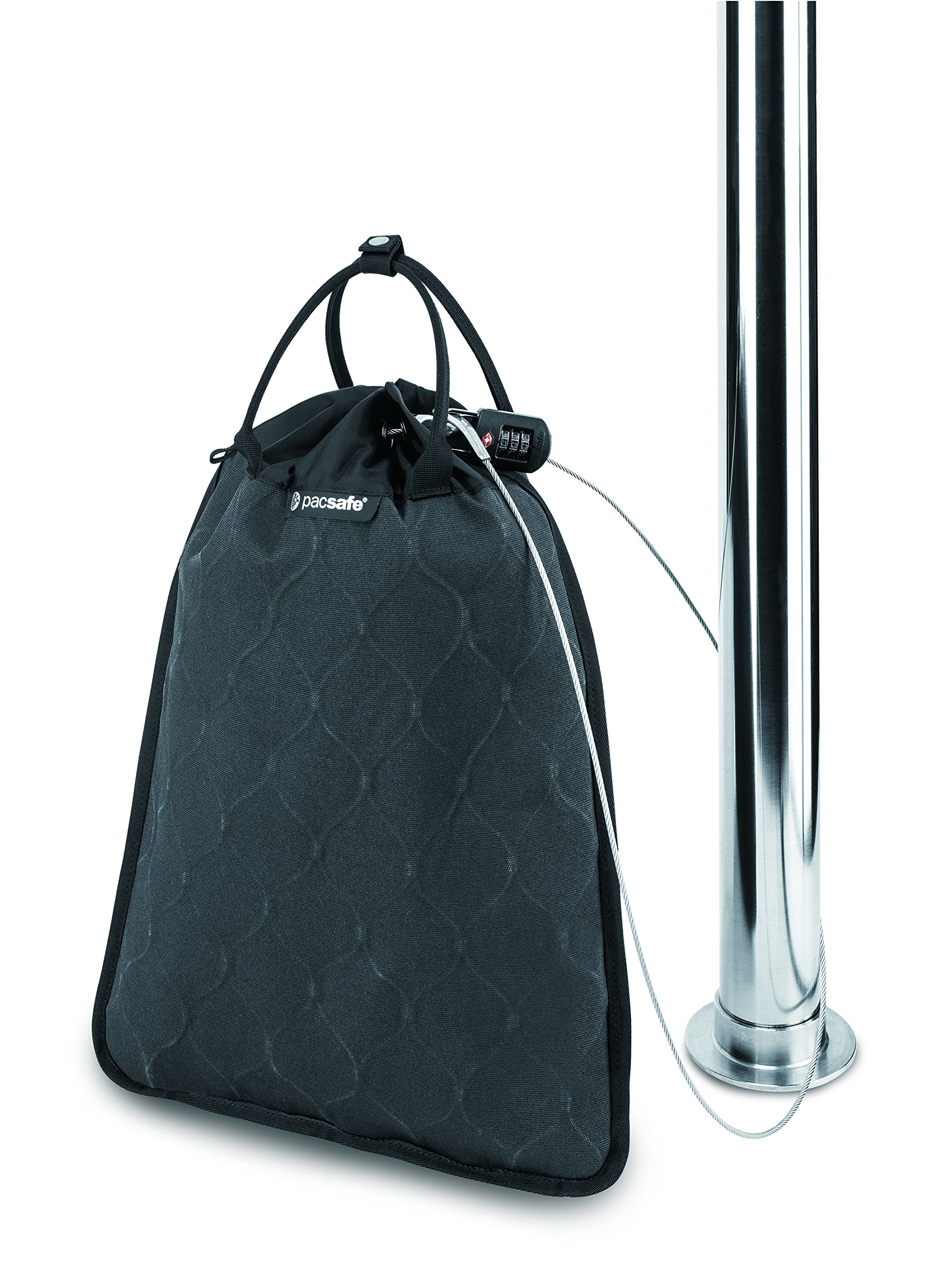 Pacsafe Travelsafe 12L GII Portable Safe, Charcoal by Pacsafe (Image #9)