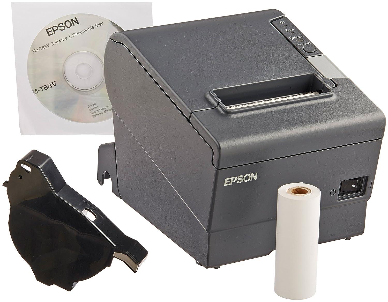 amazon com epson c31ca85090 tm t88v receipt printer 5 8 height x