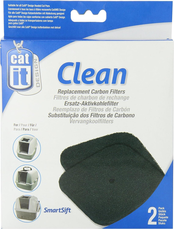 Catit Reemplazo De Carbón para Gatera: Amazon.es: Productos para mascotas