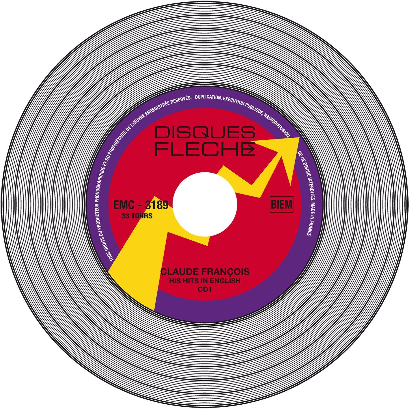 Claude François - His Hits In English - Vinyl Replica Deluxe - Amazon.com Music