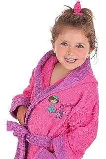 88fdf9d9e370d Secaneta - Peignoir Coton Broderie pour Fille. Peignoir infantil avec  Dessins. ninnet 2 a