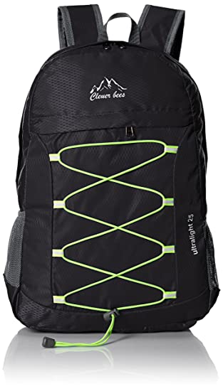 Amazon.com : CLEVER BEES Outdoor Water Resistant Hiking Backpack ...