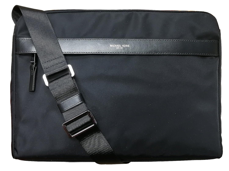 Michael Kors Mens Kent Large Nylon Messenger Bag