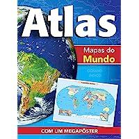 Ciranda Cultural Atlas - Mapas do mundo: Mapas do mundo, Multicores
