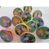 Ben and Holly's Kingdom Cupcake Ring Toppers - SET OF 12