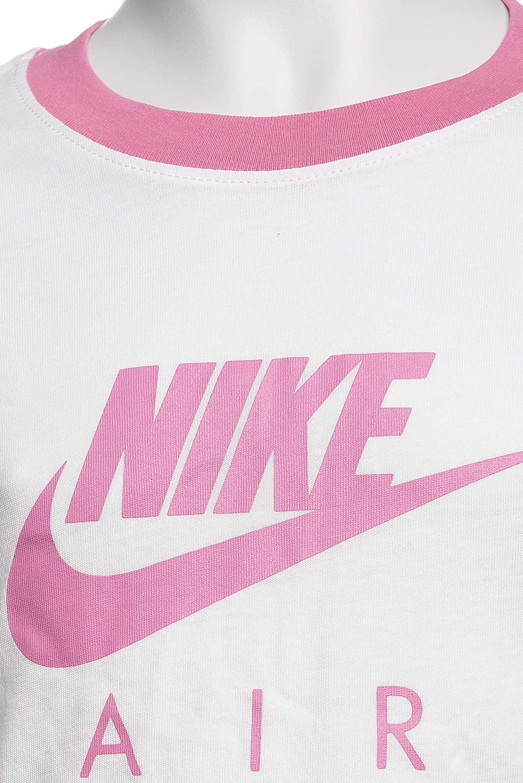 NIKE G NSW tee Air Logo Ringer Camiseta de Manga Corta Ni/ñas