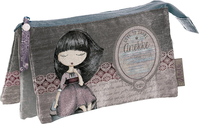 Anekke Faith - Portatodo triple, 225 x 115 x 20 mm: Amazon.es ...