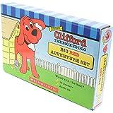 英語 絵本 Clifford Big Red Adventure 10冊 ボックスセット CD付