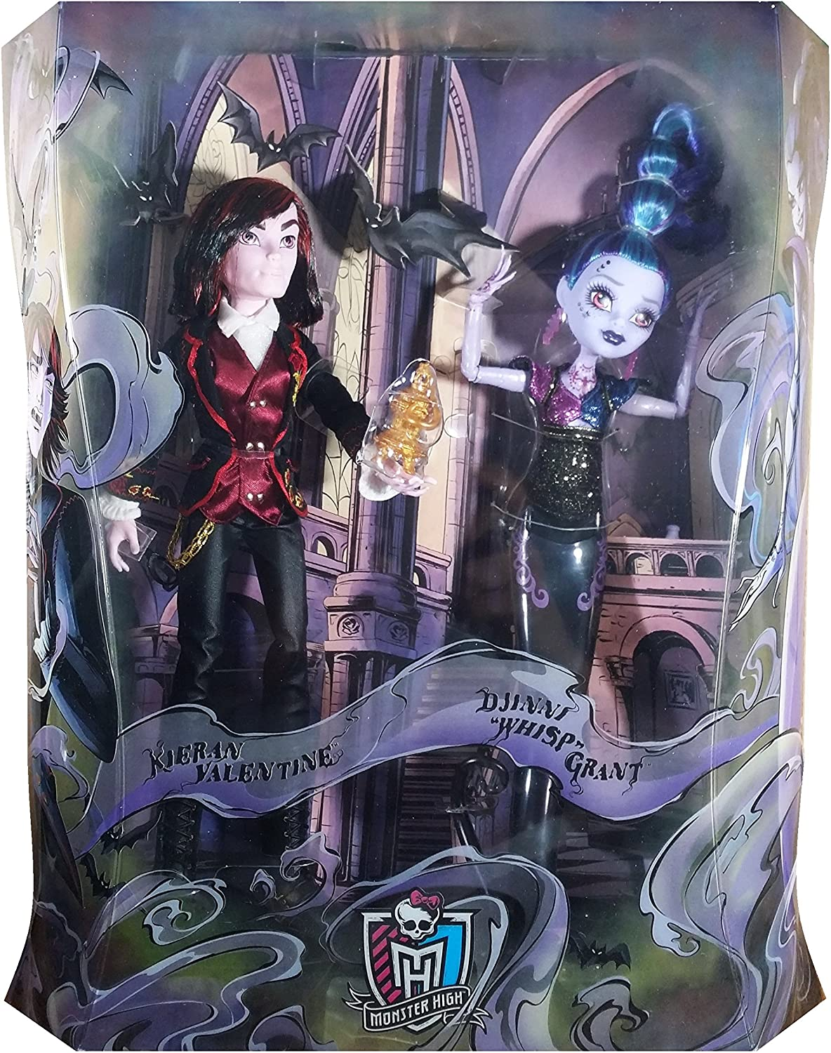 Mattel Monster High Kieran Valentine & Djinni Whisp Grant SDCC ...