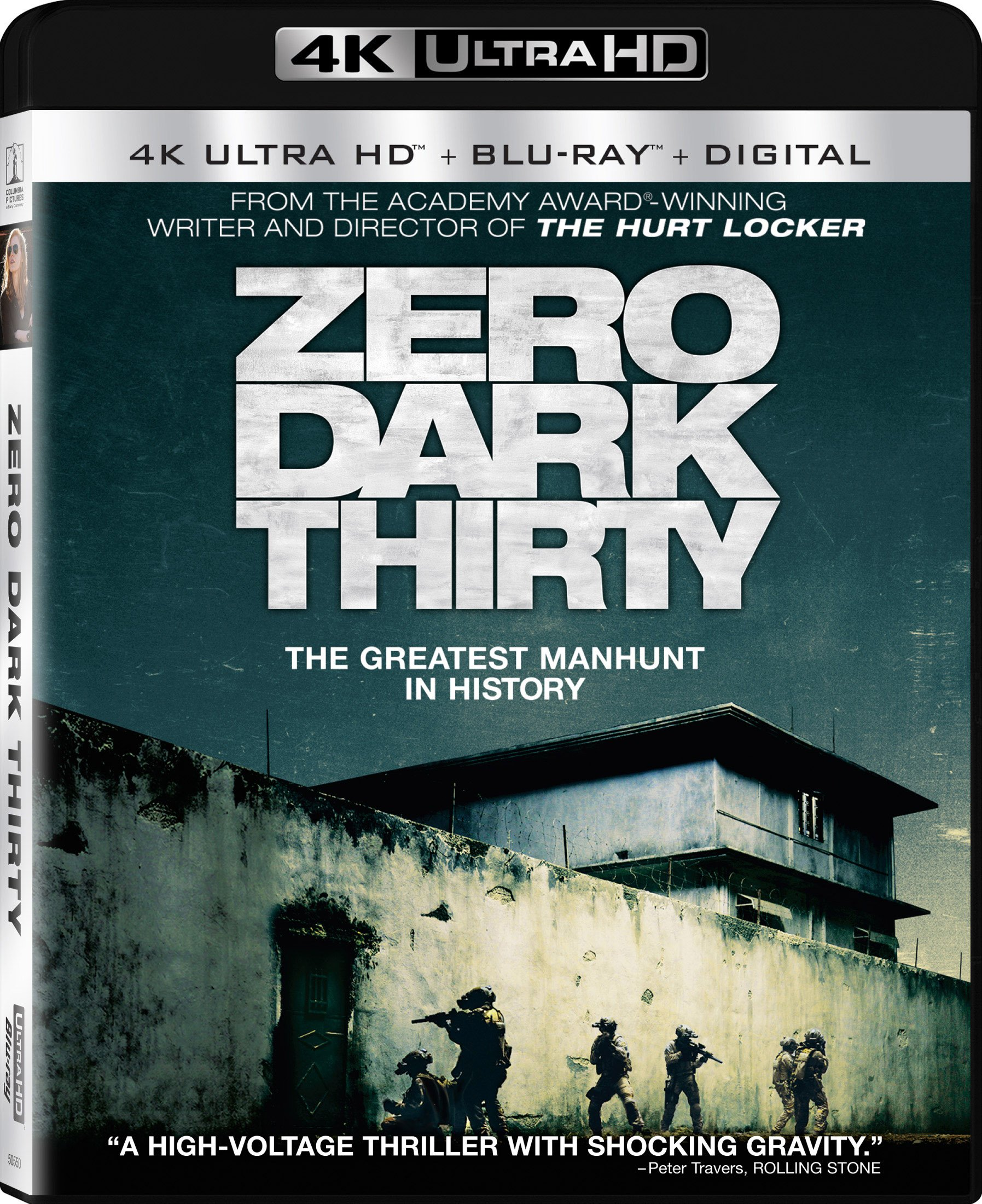 4K Blu-ray : Zero Dark Thirty (With Blu-Ray, 4K Mastering, Ultraviolet Digital Copy, Dolby, Dubbed)