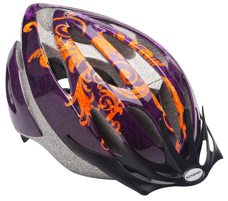 Schwinn Adult Thrasher Helmet, Orange/Purple by Schwinn   B00CIOGI3E
