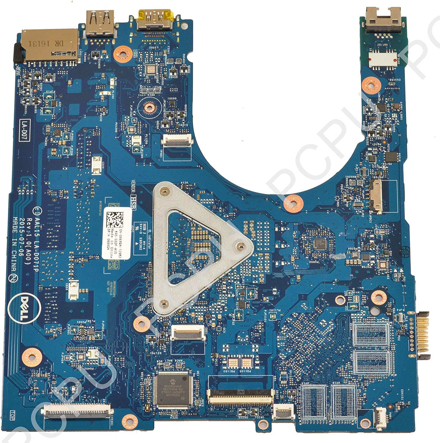 Dell Inspiron 15 5559 Laptop Motherboard w//Intel i3-6100U 2.3Ghz CPU