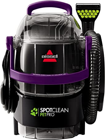 Bissell Spotclean Pet Pro Portable Carpet Cleaner 2458