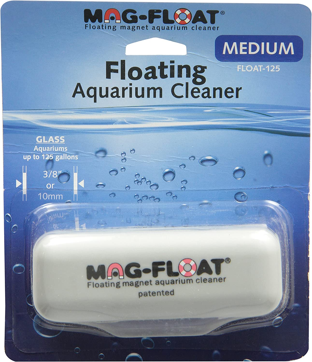 B0002568ZO Gulfstream Tropical AGU125MED Mag-Float Glass Aquarium Cleaner, Medium 91VGnEKVN7L