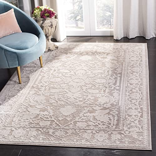 Safavieh Reflection Collection RFT665A Area Rug, 10 x 14 , Beige Cream