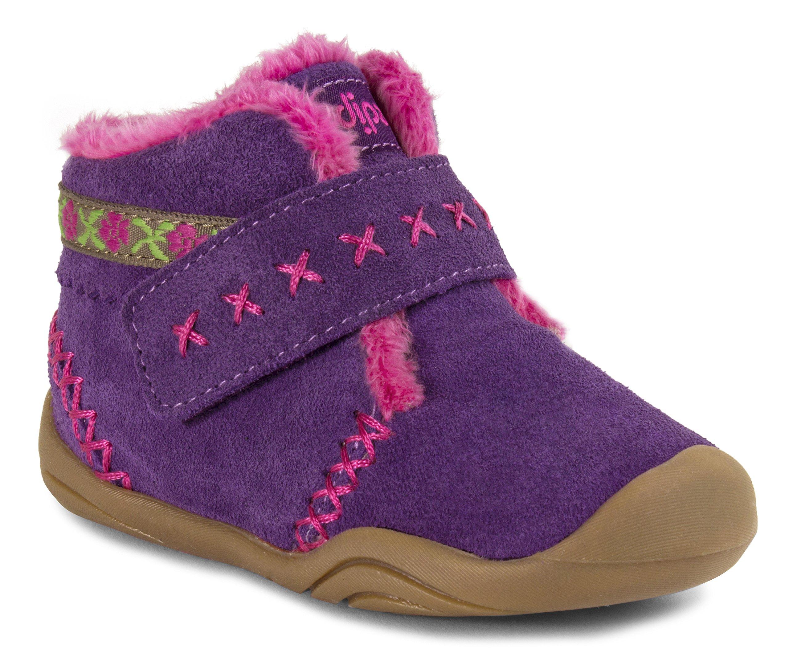 pediped Girls' Rosa Chukka, Purple, 20 EU(5 E US Toddler)