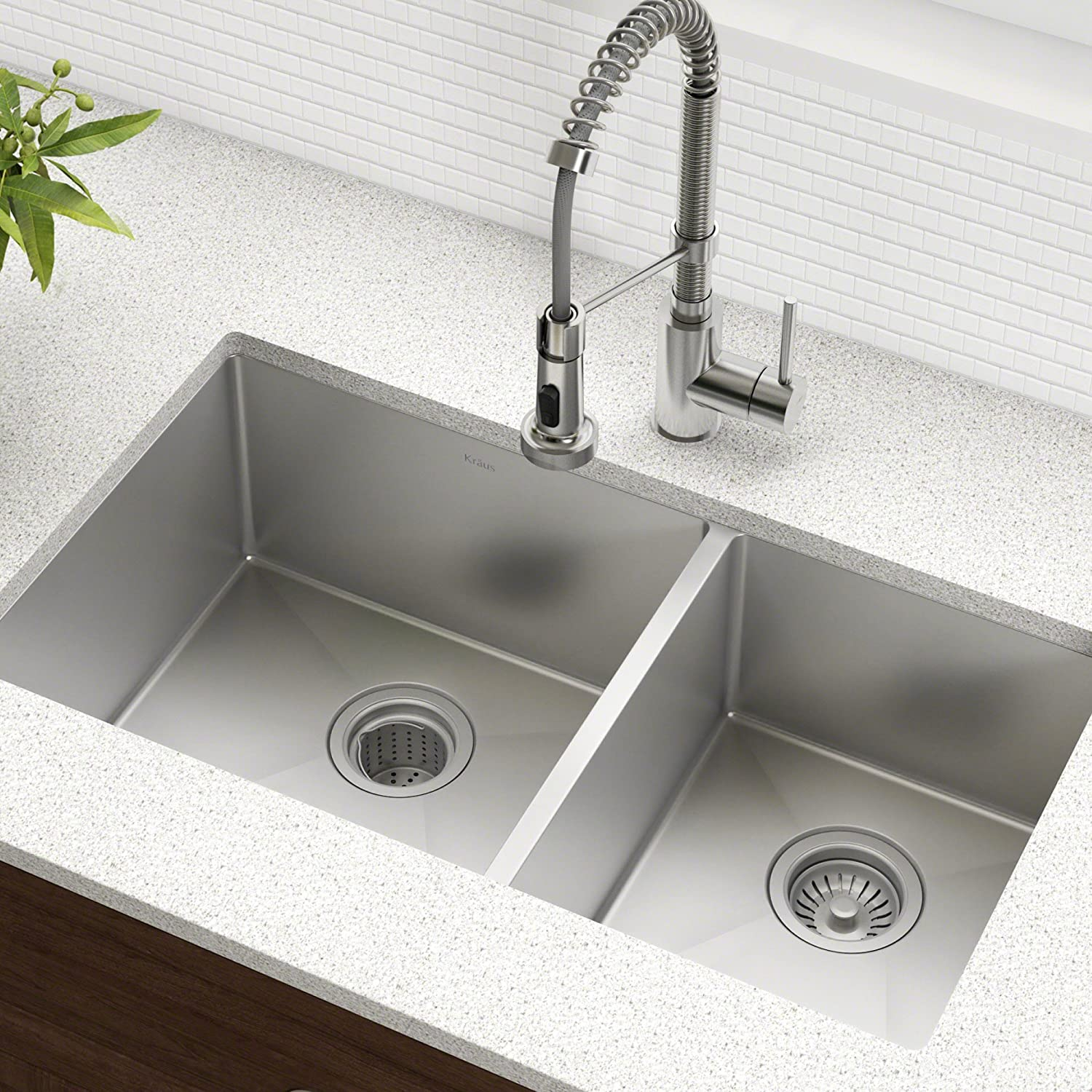Kraus Double Bowl Kitchen Sink