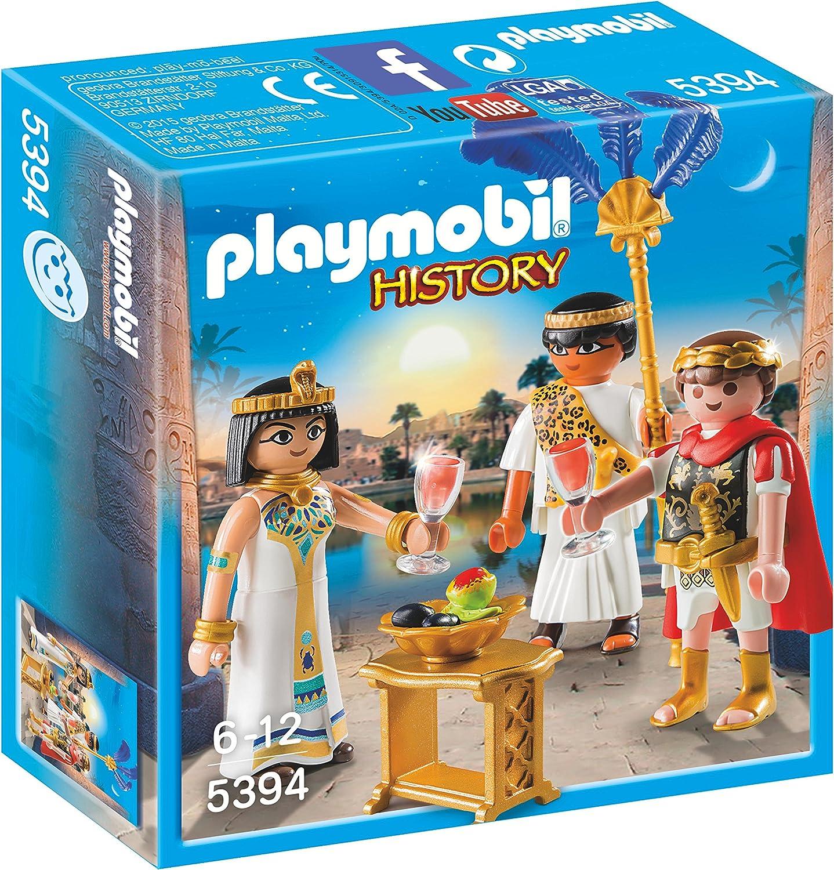 Playmobil Romanos y Egipcios - César y Cleopatra, Playset de ...