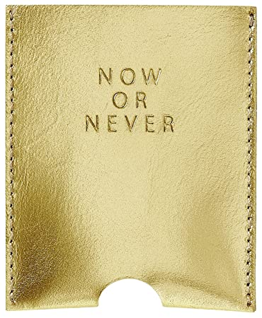Unbekannt Kartenetui Visitenkartenetui Now Or Never Leder