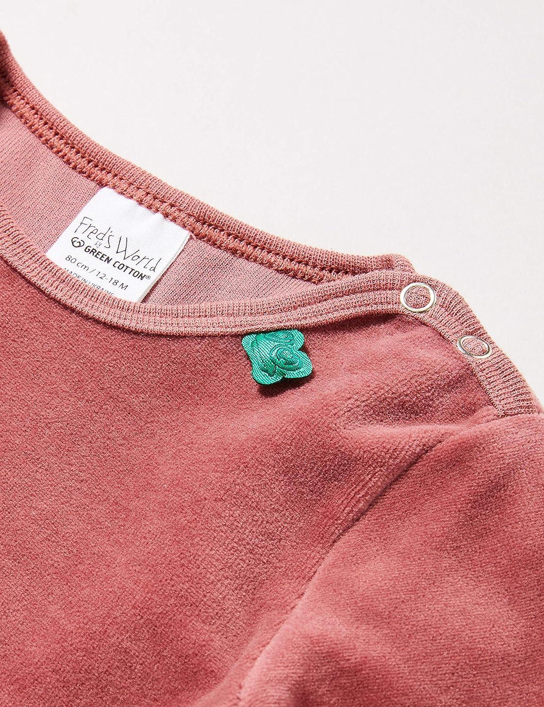 M/ädchen Body Velvet FredS World By Green Cotton Baby