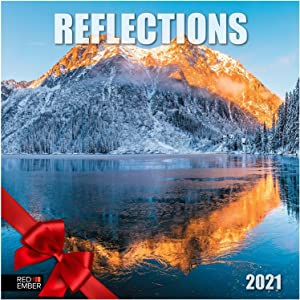 Reflections - 2021 Hangable Wall Calendars by Red Ember Press - 12