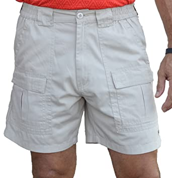 TROD Men's Cargo Short with Side Pocket and 6 inch inseam | Amazon.com