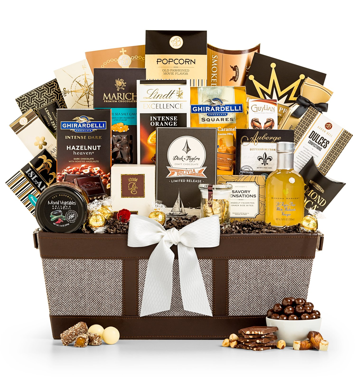 Fit for Royalty Gourmet Gift Basket - Premium Gift Basket for Men or Women by GiftTree