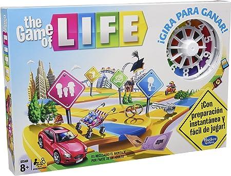 Hasbro Gaming - Juego en Familia Game of Life (04000546): Amazon.es: Juguetes y juegos