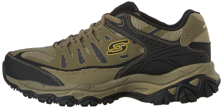 Skechers-Afterburn-Memory-Foam-M-fit-Men-039-s-Sport-After-Burn-Baskets-Chaussures miniature 87