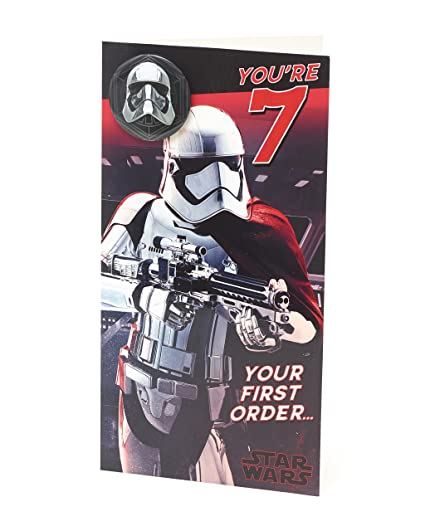 Amazon Star Wars The Last Jedi Age 7 Badge Youre 7 Your First
