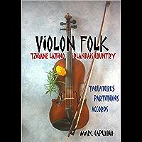 Violon folk: Tablatures et partitions violon
