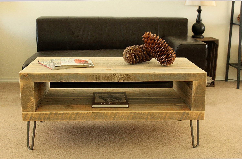 Amazon reclaimed wood coffee table handmade geotapseo Images
