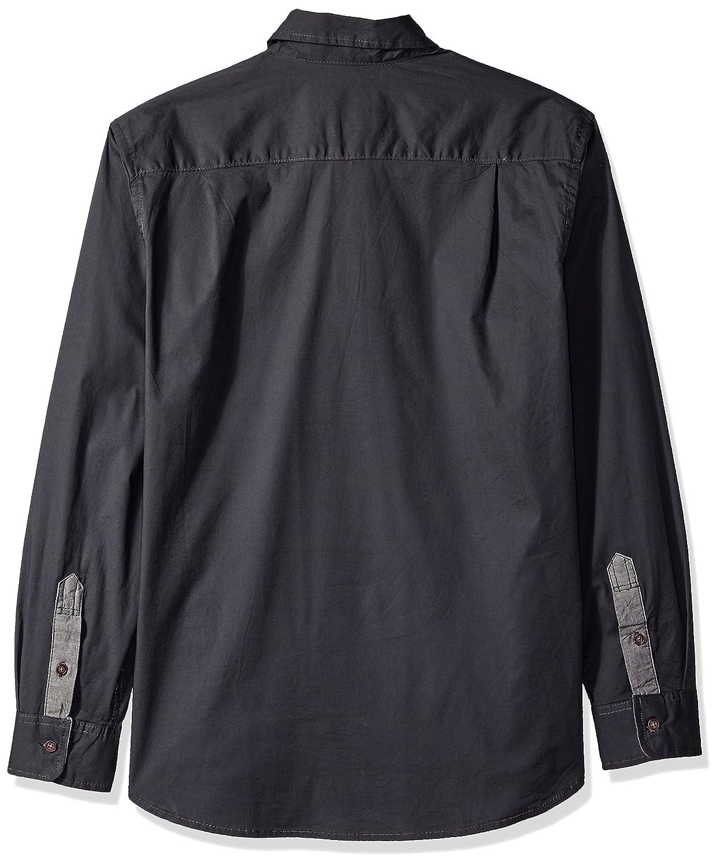 LEE Mens Button Down Shirt Long Sleeve Brady Dress Regular Big Tall