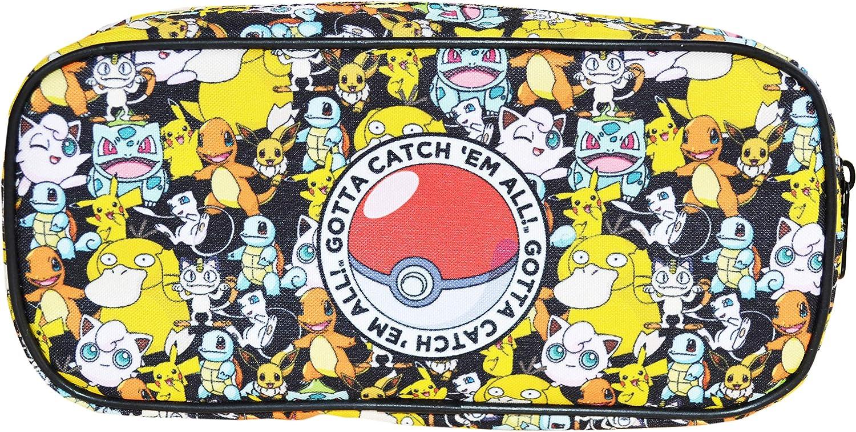 Pokémon - Estuche para lápices | Streetwise | Gotta Catch Em All!: Amazon.es: Oficina y papelería