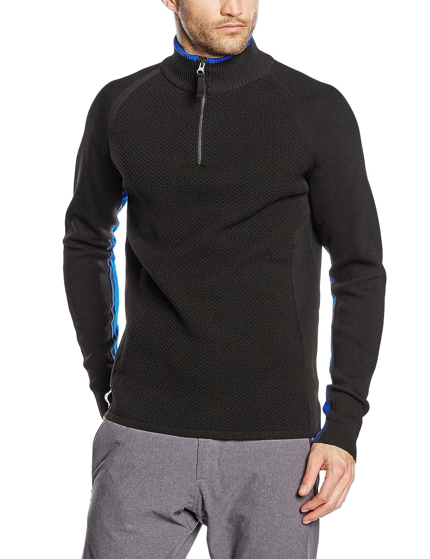 FALKE Herren Skipullover Zip Pullover Men