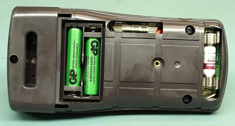 Baugger Baugger Digital Multimeter-Voltm/ètre LCD num/érique Amp/èrem/ètre Ohmm/ètre Multim/ètre Voltm/ètre Testeur CC M/ètre